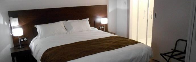 Bedroom hotel Verdun France