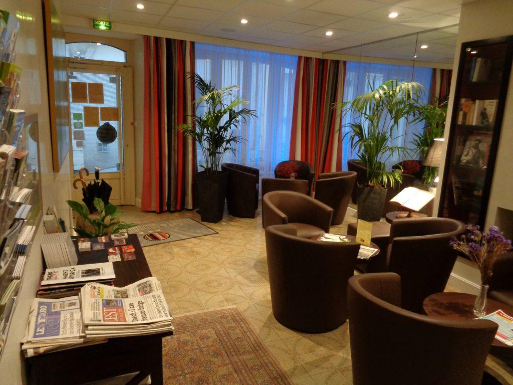 Between Reims and Metz just sleep at the hotel in Verdun Montaulbain