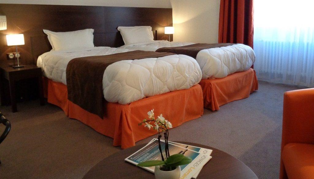 Room hotel of Montaulbain Verdun City France Meuse