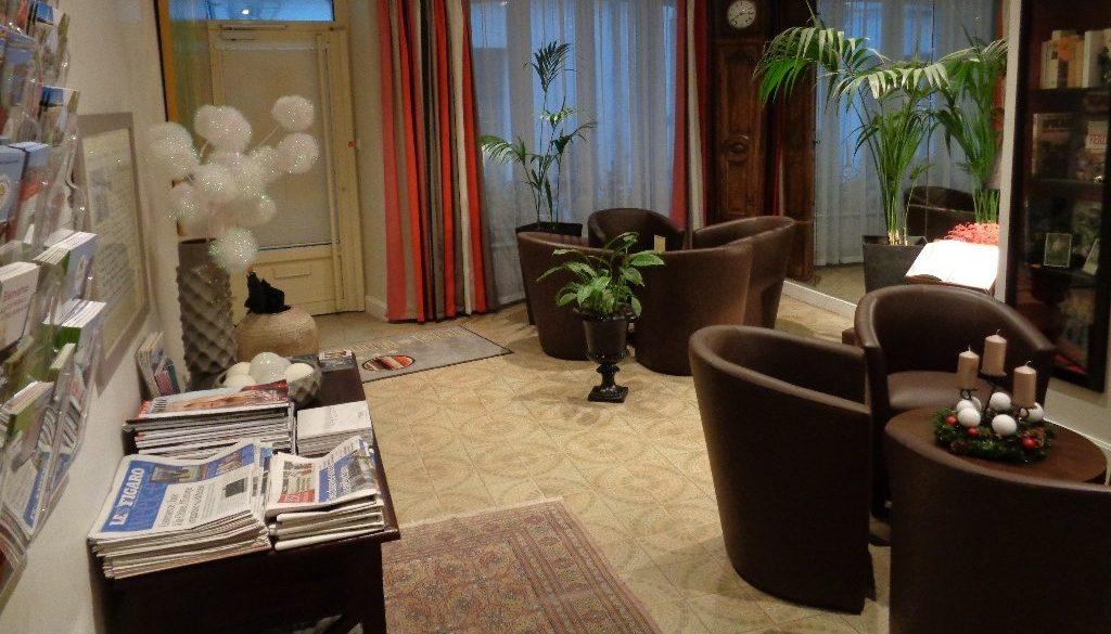 Living room hotel Verdun city of Montaulbain