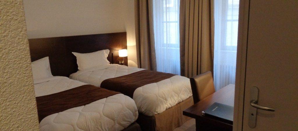 Hotel room in Verdun in France