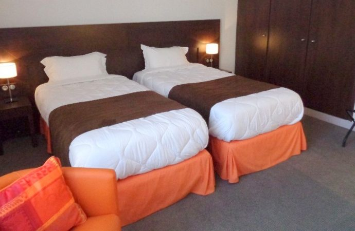 Hotel room for two people in Verdun near Paris and Strasbourg