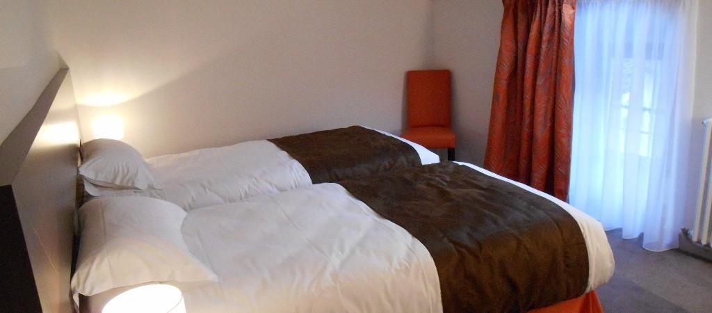 chambres communicantes pour 4 personnes à l'hôtel de Montaulbain à Verdun