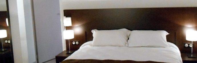 Suite familiale 2 chambres communicantes à l'hôtel de Montaulbain à Verdun