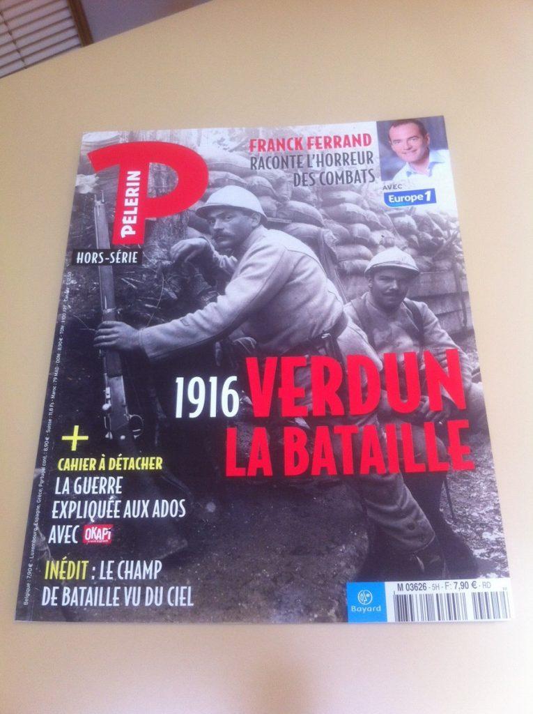 parution hotel de Montaulbain dans Pelerin Magazine