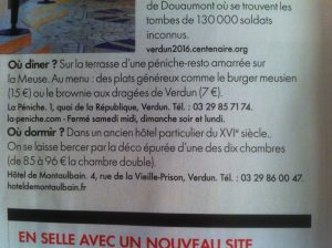 hotel de Montaulbain Verdun dans Elle Magazine