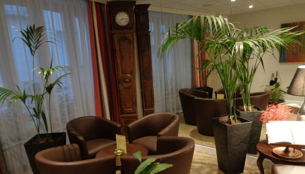 salon d'accueil hotel de Montaulbain Verdun