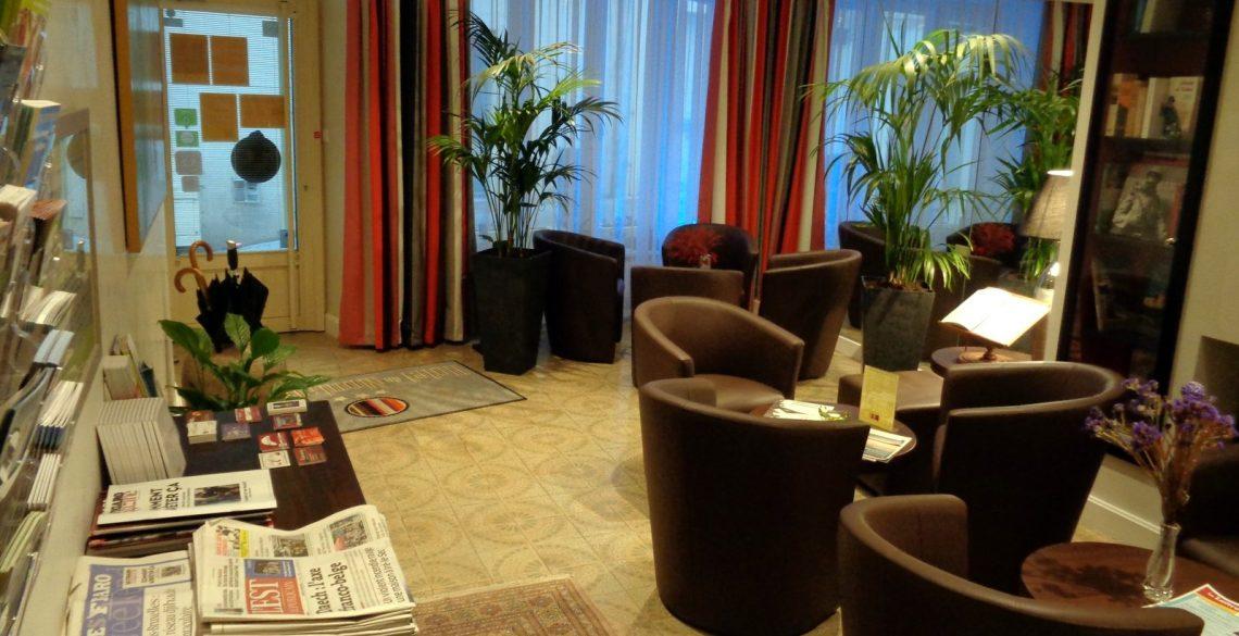 salon d'accueil de l'hotel de Montaulbain