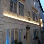 Hôtel de Montaulbain à Verdun de nuit