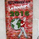 Recommandé par le Guide du Routard