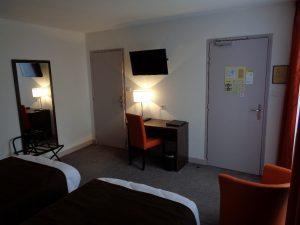 chambre de l'hôtel de Montaulbain à Verdun en Meuse