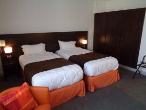 Chambre twin 20 hotel de Montaulbain