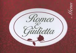 Restaurant verdun Roméo e Giulietta