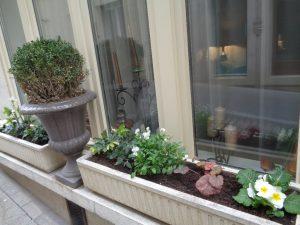 décoration florale hôtel de Montaulbain