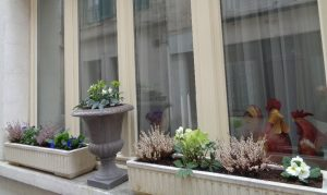 hotel de montaulbain à verdun vue d'extérieure