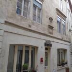 Façade de l'hôtel à Verdun