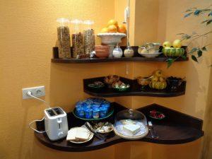 petit déjeuner à l'hôtel de Montaulbain